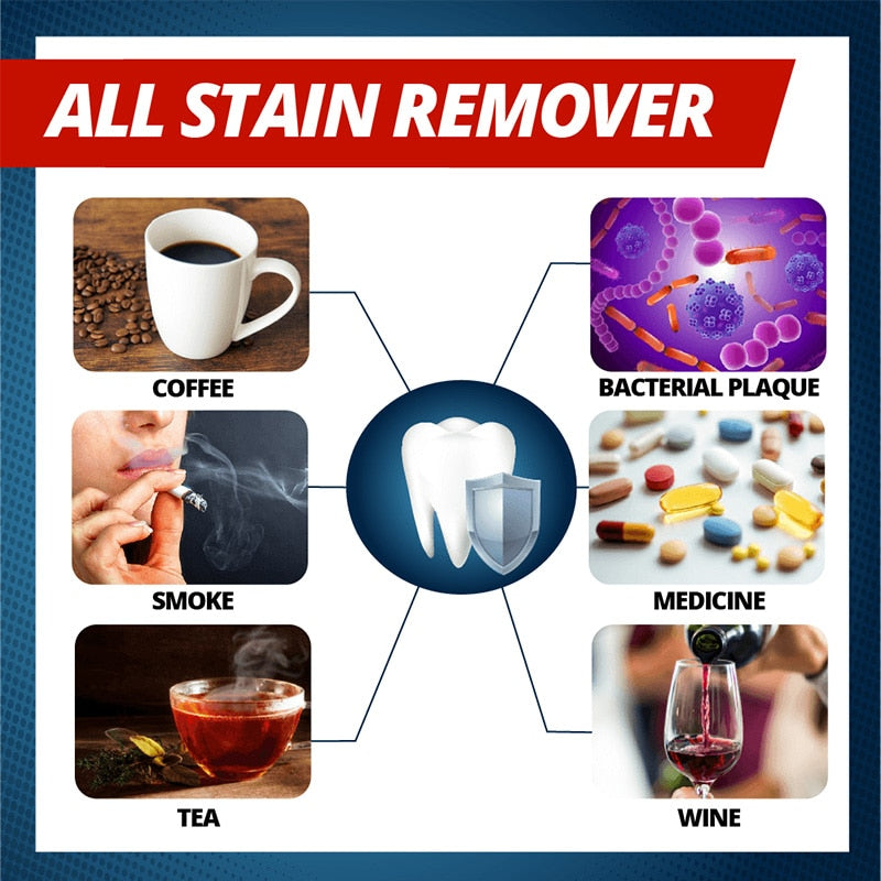 Magical Stain Removal Teeth Whitening Toothpaste