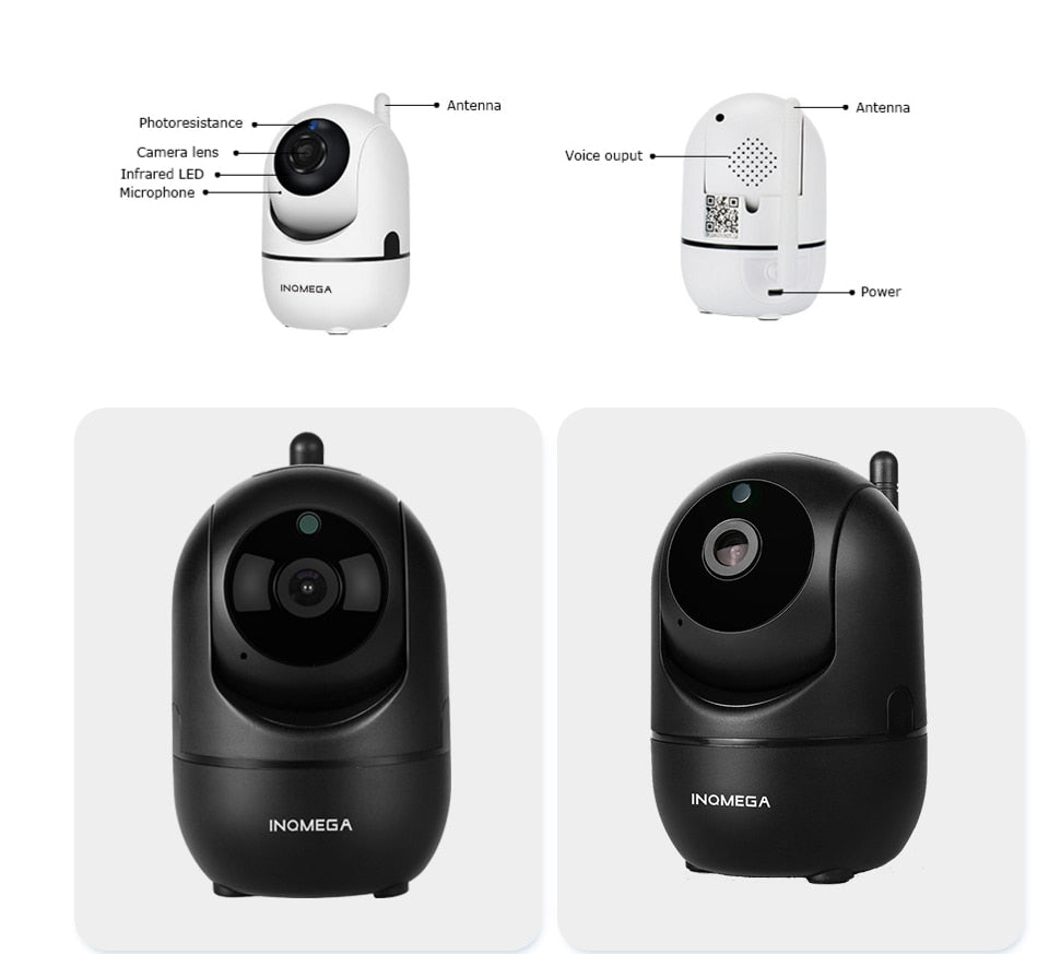 Intelligent Auto Tracking CCTV Network Wifi Camera