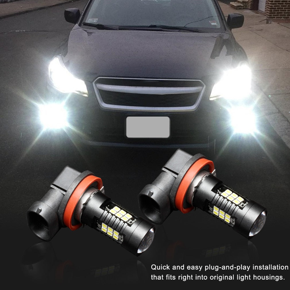 LED Car Lights Fog Lights 2Pcs