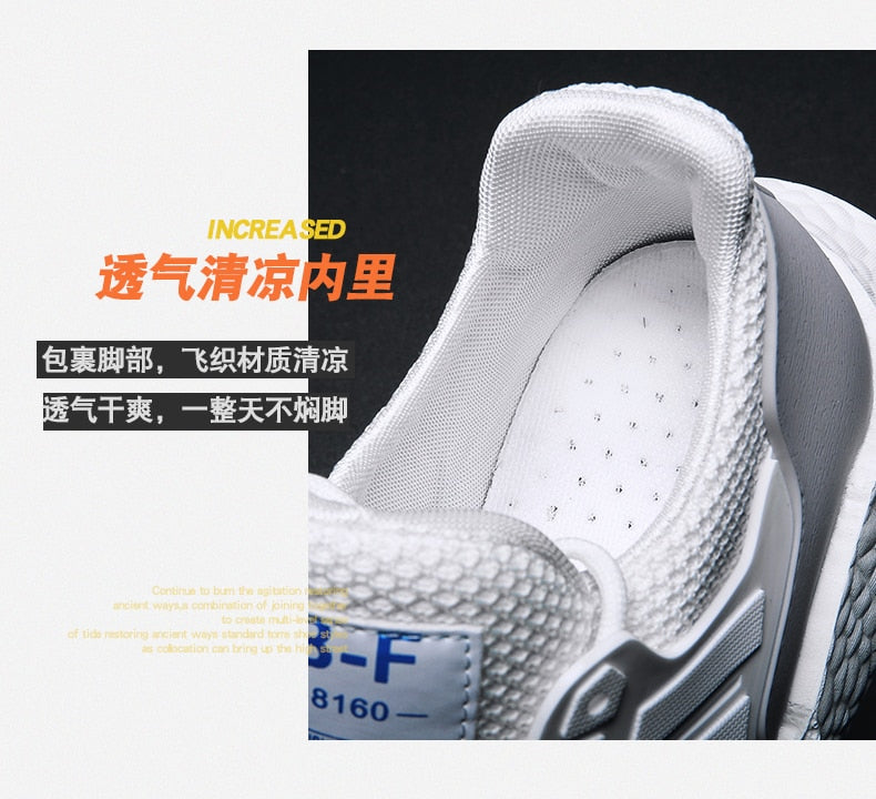 Men's Sports Shoes  Breathable and Comfortable
