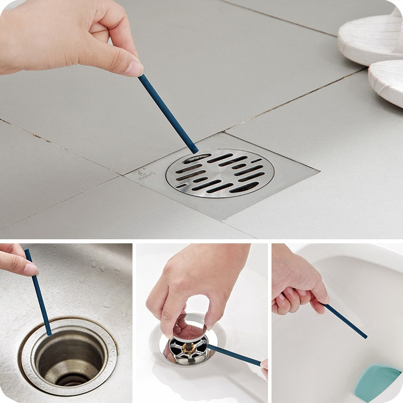 Unblock Stick Keeps Your Drain Pipes Clear