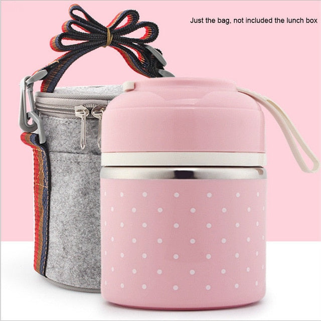Portable Thermal Leak-Proof stainless steel Lunch Box