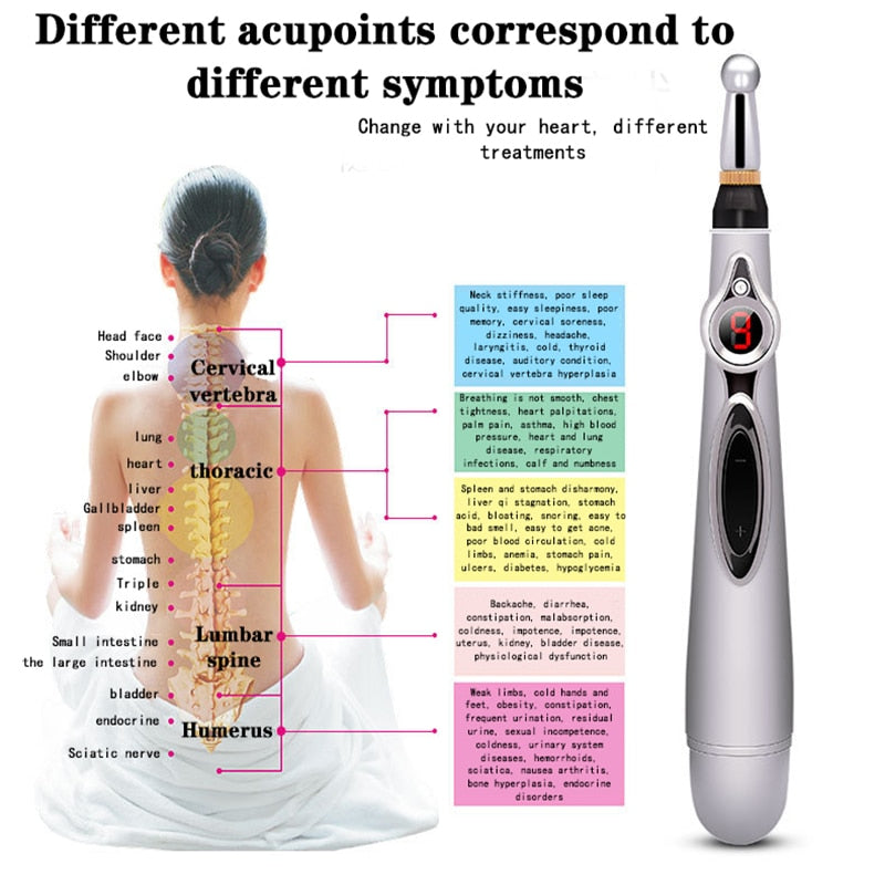 Acupuncture Energy Pen Laser Therapy Treatment