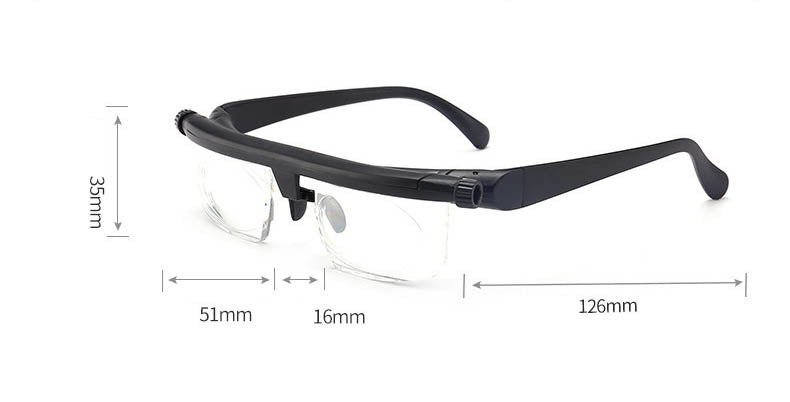 Myopia Hyperopia Adjustable Reading Glasses