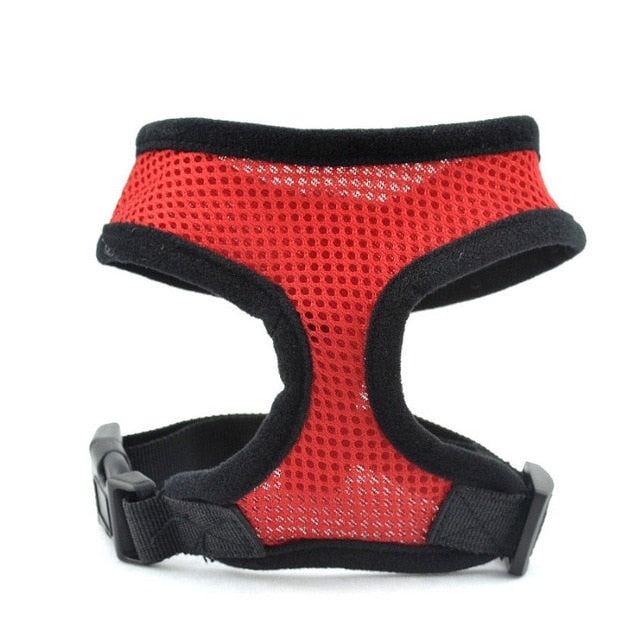 Pets Collar Breathable Vest Walking Harness