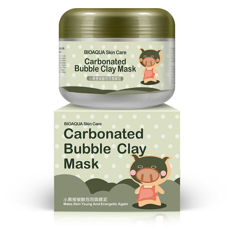 Deep Pore Cleansing Bubble Clay Mask
