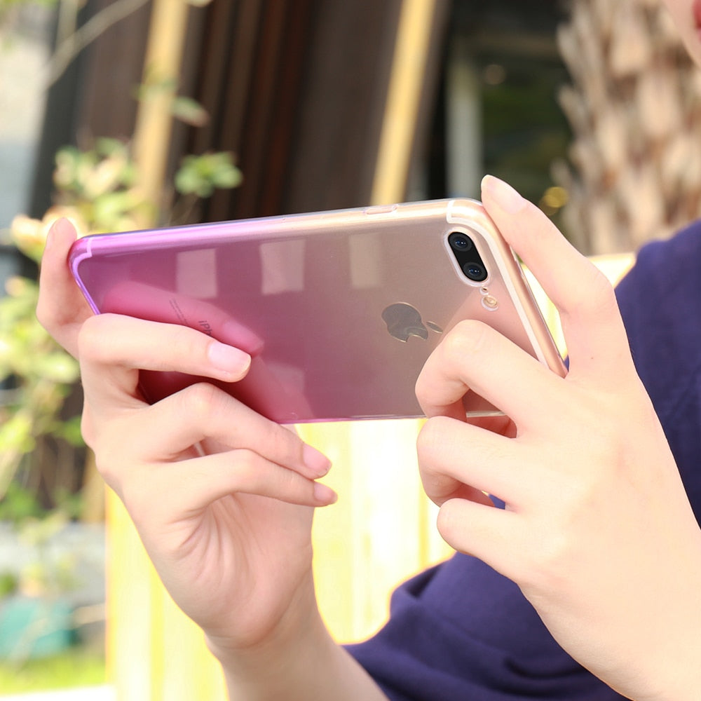 Ultra Thin  Clear Case For iPhone