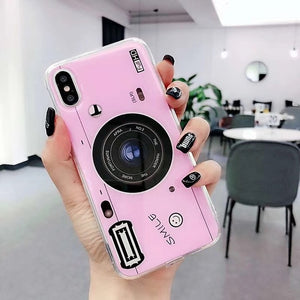 3D Camera Soft Silicone Case