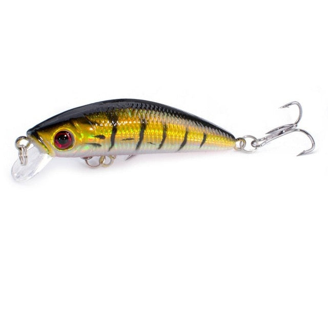 Fishing Lures Minnow Popper Baits Tackle Crankbait