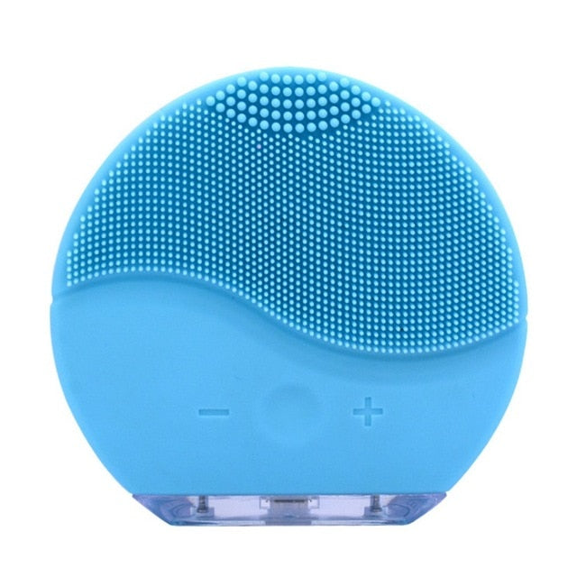 Electric Facial Cleansing Face Washing Brush