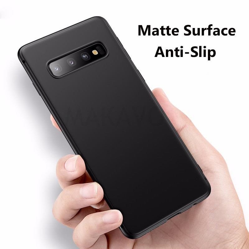 Full Protection Slim Matte Case for Samsung Galaxy S10 S10Plus S10e