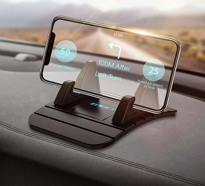 Car Dashboard Phone Holder Rubber Mount