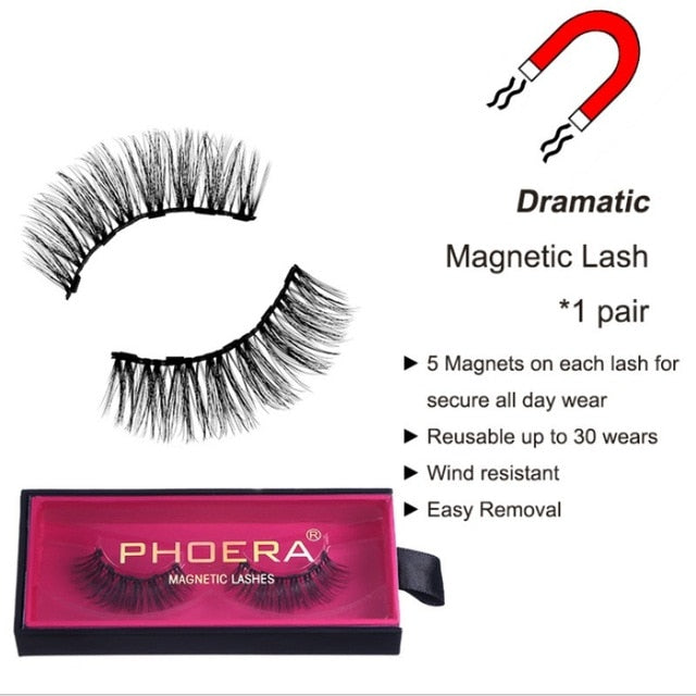 Perfect 3D Eye Lashes Set Magnetic Eyeliner