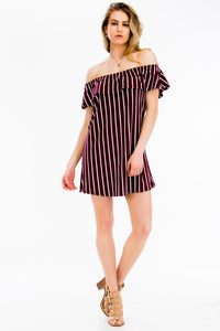 Knit Stripped dress