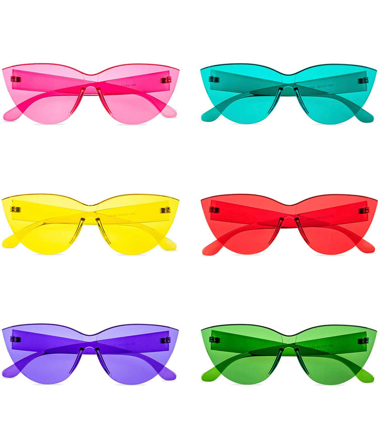 Unique Candy Sunglasses (Cat Eyes) - Unique SwimTique