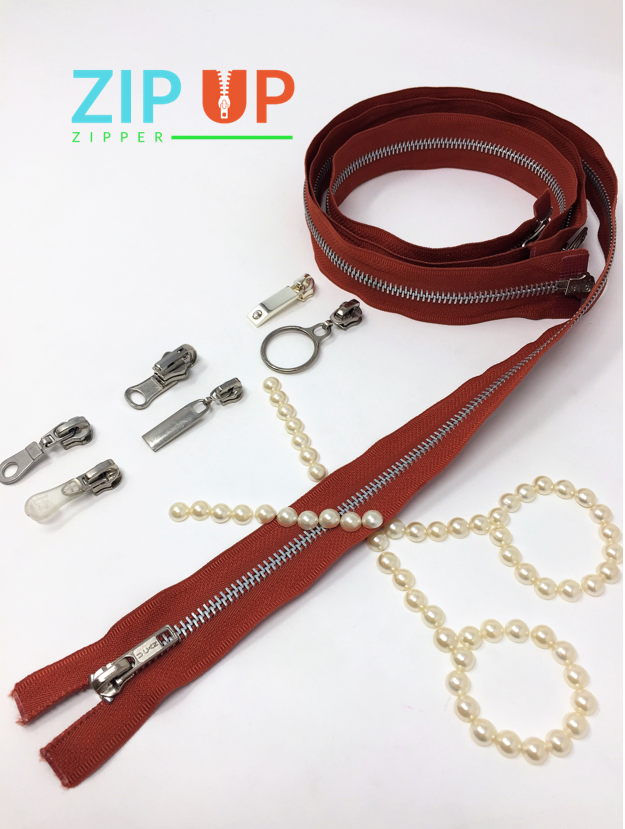 Customize Zippers by Length/Style