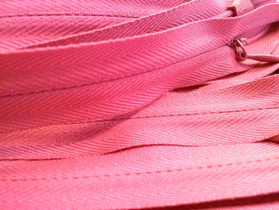 Hot Pink Invisible Zippers 12 Inches Color 354 - ZipUpZipper