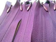 Purple Invisible Zippers 13 Inches Color 526