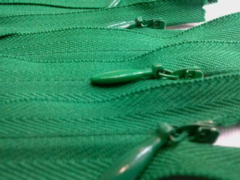 Wholesale Dark Green Invisible Zippers Color 876 - Choose Length - - ZipUpZipper