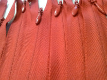 Red Invisible Zippers 14 Inches Color 519