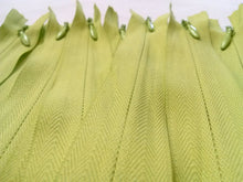 Light Green Invisible Zippers 14 Inches Color 874
