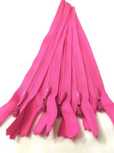 Wholesale Hot Pink Invisible Zippers Color 354 - Choose Length -