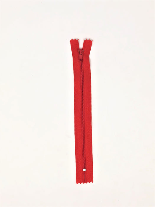 Nylon Zippers 9 Inches Coil #3 Closed Bottom - ZipUpZipper