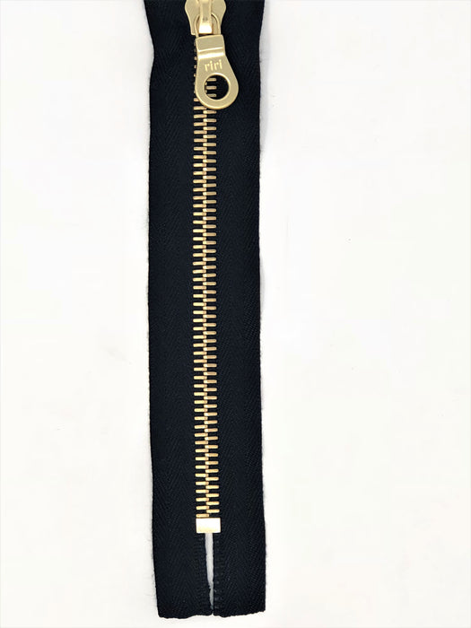 Riri 8MM Closed Bottom Zipper 26-36 inches -Choose Your Color- Choose Your Length-