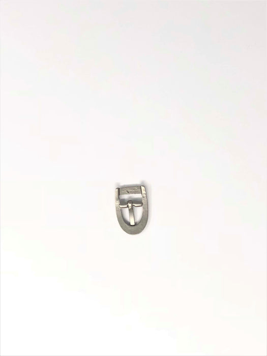 "Small Buckles Matte Silver Finish 1"" x 5/8"" - ZipUpZipper"