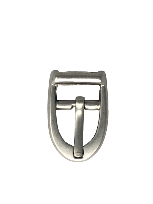 "Small Buckles Matte Silver Finish 1"" x 5/8"""