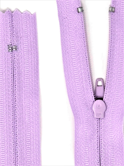 Lavender Purple #762 Generic Nylon Zipper 12-22 Inches #3 Closed -Wholesale-