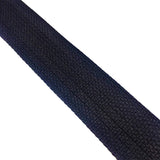 "2"" Wide Cotton Webbing Black - ZipUpZipper"