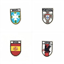 Iron On Flag T-Shirt Patches