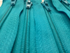 Teal #370 Generic Nylon Zippers 12-22 Inches #3 Coil Closed Bottom - ZipUpZipper