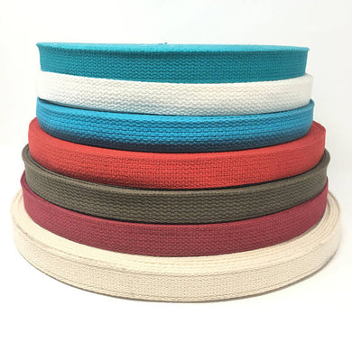 1 Inch Wide Cotton Webbing