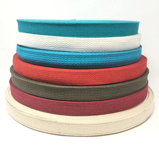 1 Inch Wide Cotton Webbing - ZipUpZipper