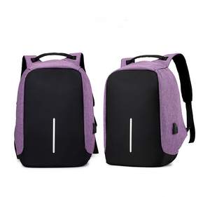 Anti-Theft Backpack with USB Charging Port - Smart Gadget Hub