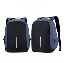 Load image into Gallery viewer, Anti-Theft Backpack with USB Charging Port - Smart Gadget Hub