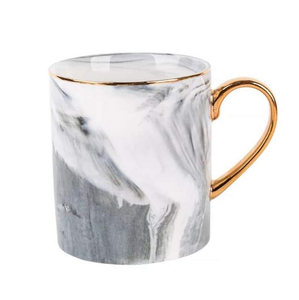 Exquisite Marble Coffee Mug with Gold Plating - Smart Gadget Hub