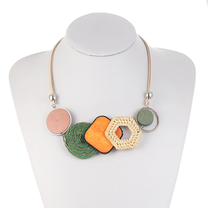 Handmade Bamboo Necklace - Smart Gadget Hub