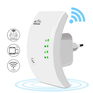 Wireless WIFI Repeater - Instantly Doubles Your WiFi Range! - Smart Gadget Hub
