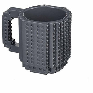 Creative DIY Build-on Brick Mug - Smart Gadget Hub