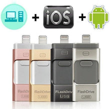 Load image into Gallery viewer, USB 3.0 Flash Drive 3-in-1 - Smart Gadget Hub