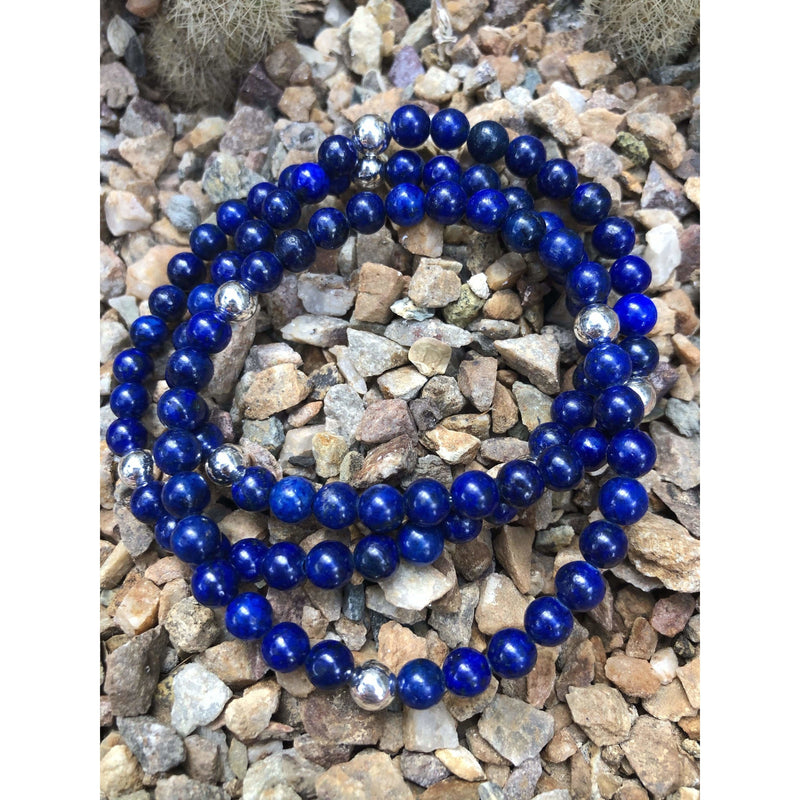 SB0282 - Blissful Lapis Bracelet