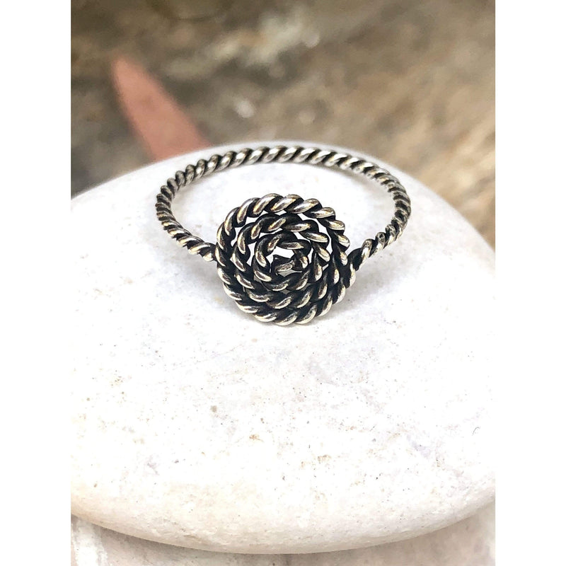 R0128 - Oxidized Coil Ring
