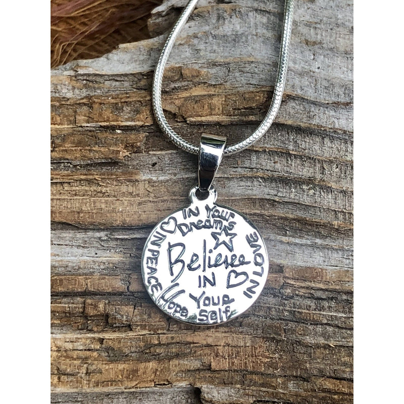 N0240 - Believe In Yourself Necklace