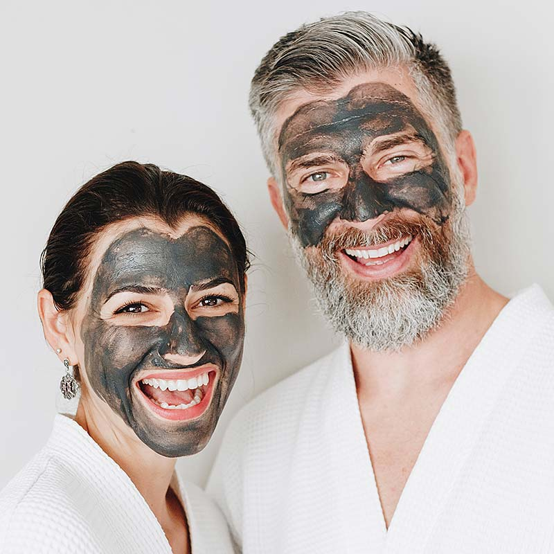 Image of Charcoal Brightening Clay Mask