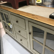 HANDCRAFTED LARGE TV CABINET / ENTERTAINMENT CENTER