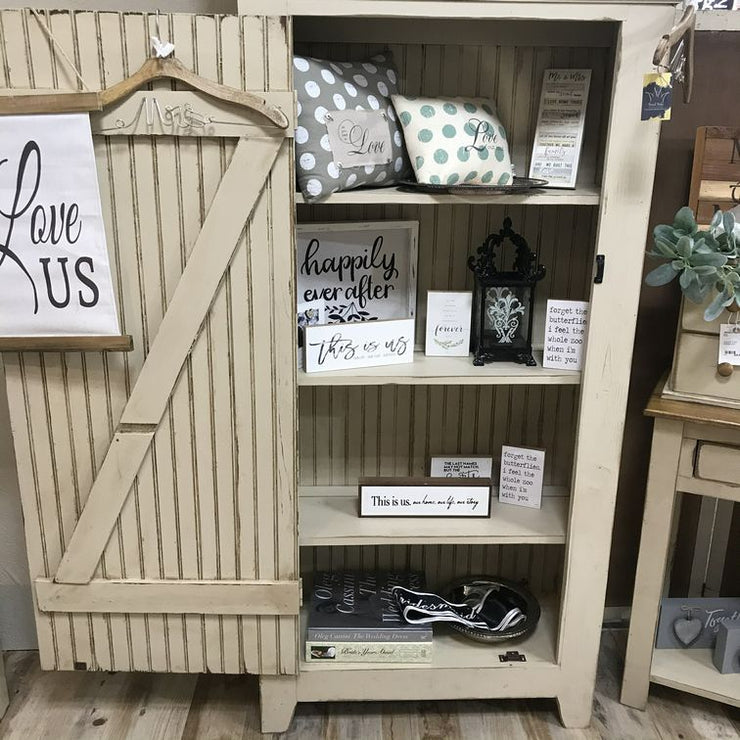 FARMHOUSE JELLY CABINET