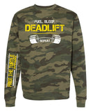 STRENGTH FLEECE SWEATSHIRT -DEADLIFT